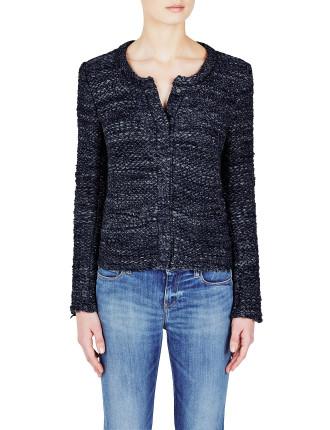 Carene Textured Knit Jacket