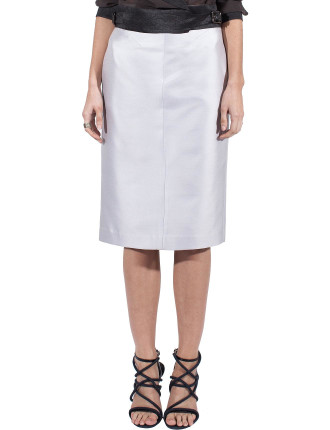 Cement Cotton Silk Reform Skirt