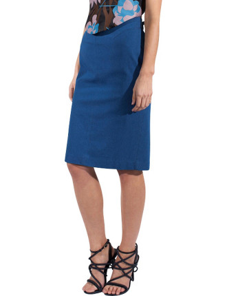 Denim Reconfigure Skirt