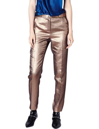 Copper Lurex Svelte Pant