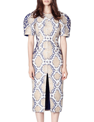 Diamond Back Inflexion Dress