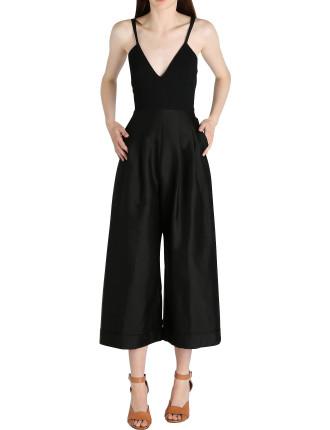 Black Crepe Splendid Wren Jumpsuit