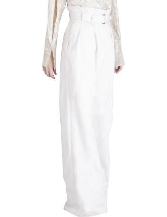 White Denim Pant