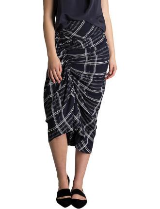Midnight Check Artemis Skirt