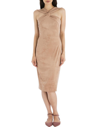 Rose Faux Suede Bond Street Dress