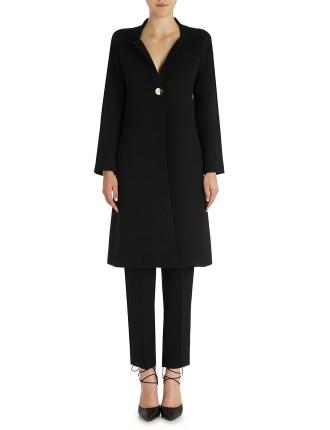 Onyx Crepe Regent Street Coat