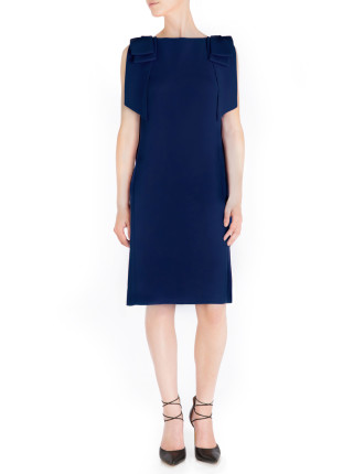 ROYAL CREPE VALENTINA SHEATH DRESS