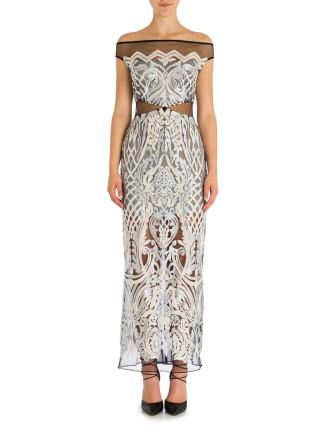 Platinum Paillette Gigi Gown