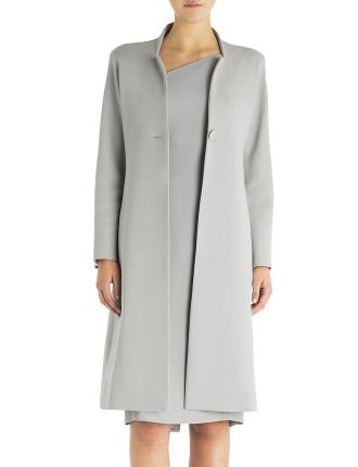 Platinum Crepe Regent Street Coat