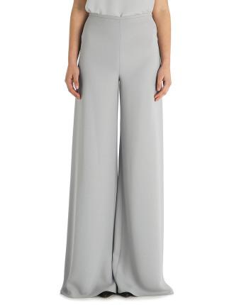 Platinum Crepe Fashion Flare