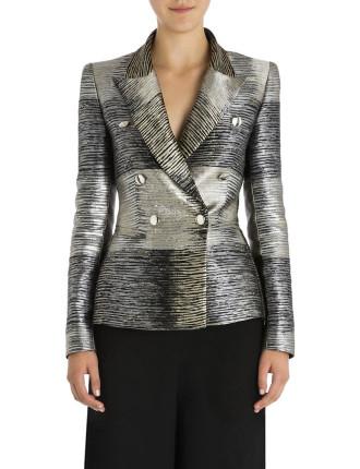 Platinum Stripe Windsor Jacket