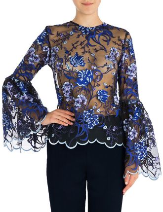 Royal Lace Charlotte Top