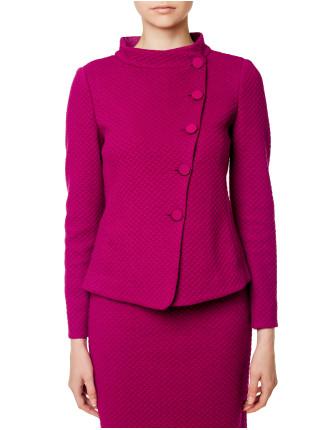 Asymmetrical Jersey Jacket