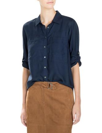 Seamed Modal Shirt