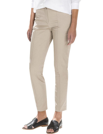 Cotton Sateen Trouser