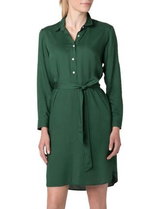 Modal 1/2 Placket Dress