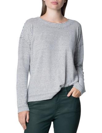 Organic Linen Strap T-Shirt