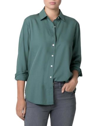 Textured Cotton Shirt