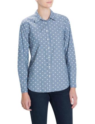 Chambray Spot Shirt