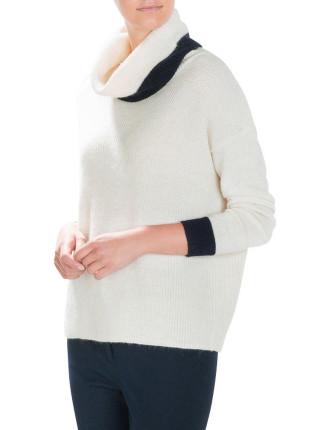 Slouch Neck Knit