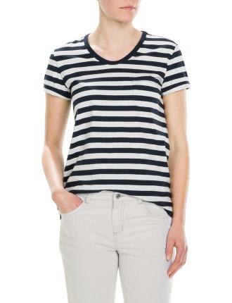 Stripe Pima T-Shirt