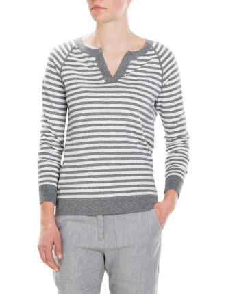 Cotton Stripe Knit