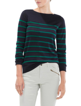 Breton Striped Merino Knit