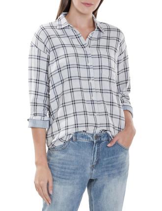 Double Face Check Shirt