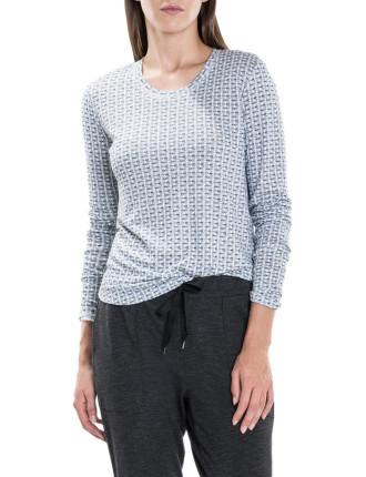 Abstract Arrow Long Sleeve T-Shirt