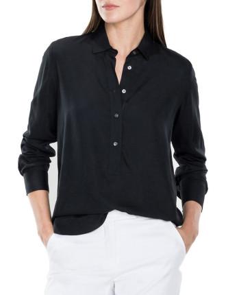 Modal Half Placket Shirt