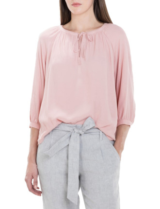 Viscose Crepe Textured Blouse