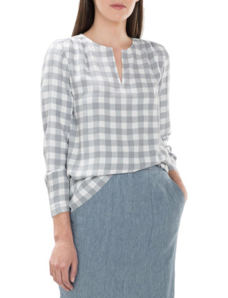 Delave Linen Pencil Skirt