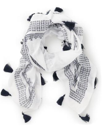 Lightweight Cotton Vera Scarf