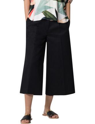 Cotton Linen Wide Leg Pant