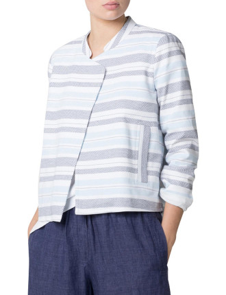 Yarn Dyed Relaxed Cotton Jacket