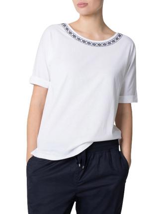Embroidered Supima T-Shirt