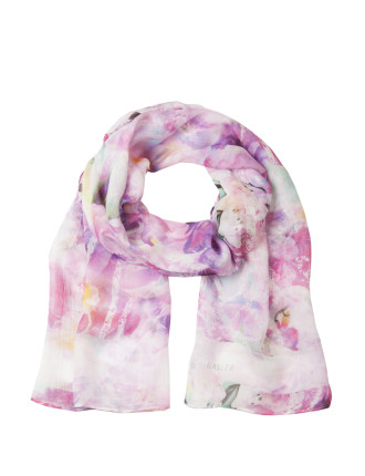 Scarves With Floral Print
