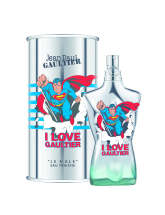 Le Male Eau Fraiche Superman 125ml