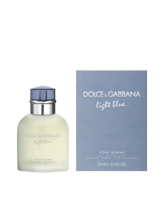 Light Blue Pour Homme Eau de toilette 75ml