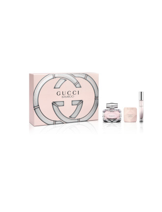 Gucci Bamboo EDP 75ml + Body Lotion 100ml + Roller ball