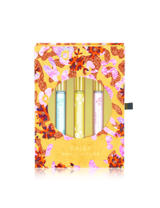 MARC JACOBS DAISY TRIO EDT ROLLERBALL SET