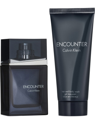 Ck Encounter Fday 13 Set (50ml  Edt+ 100ml Bw)