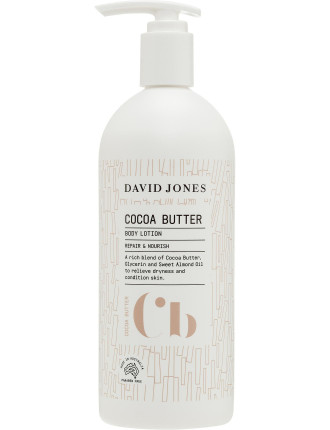 COCOA BUTTER BODY LOTION 500ML