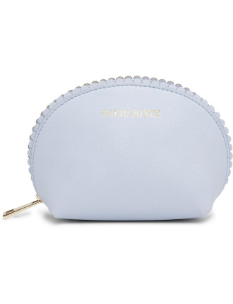 Medium Scalloped Edge Beauty Bag