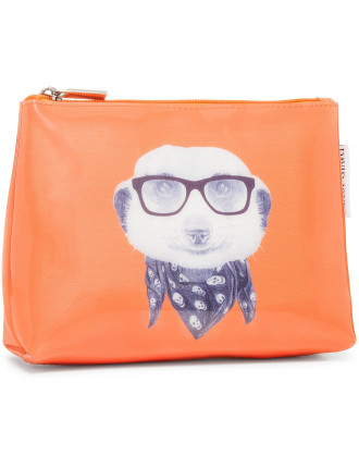 Medium Meerkat Beauty Bag