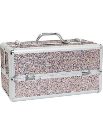 Multi Glitter Hard Case - Large