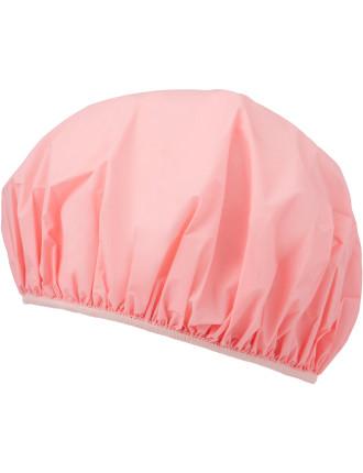 Shower Cap 26cm - Pink Plastic