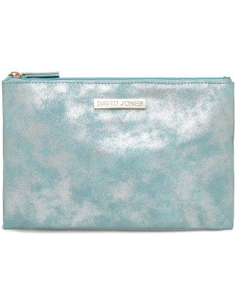 Sparkle Flat Cosmetic Bag