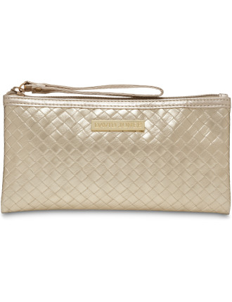Metallic Woven Cos Bag