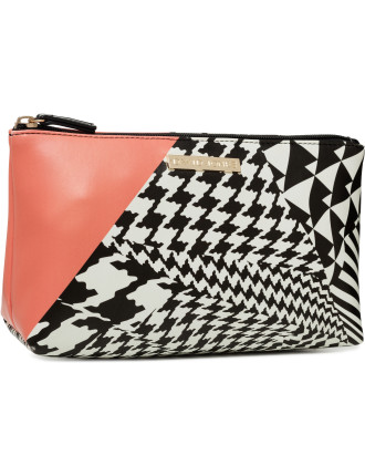 Houndstooth Medium Cos Bag
